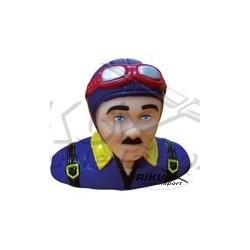 Figurka pilota - niebiesko purpurowa 50mm