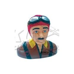 Figurka pilota - czerwono brązowa 75mm