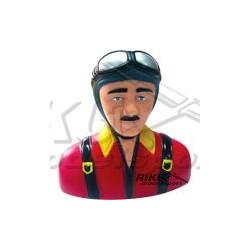 Figurka pilota - szaro czerwona 102mm