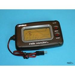 Elektroniczny miernik stanu naładowania akumulatora 3,7 - 14,8V