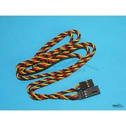 HITEC - przedłużacz 95cm - przewód skręcony