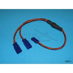 Przewód - Y kabel 0,25mm, dł. 25cm - skręcony.