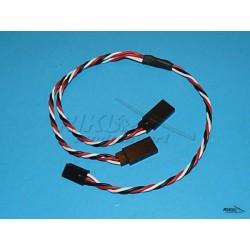 Przewód - Y kabel 0,35mm, dł. 34cm - skręcony FUTABA.