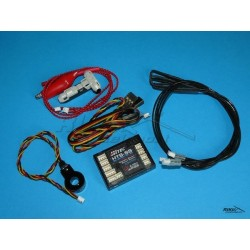 HITEC - system telemetryczny HTS-SS BLUE C50 Combo