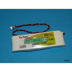 Batterist - akumulator LiPo 1800mAh / 2S RX (Classic)