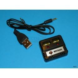 COPTER V911 - ładowarka 2 x LiPo z przewodem USB