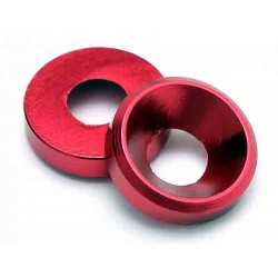 EDIT M4 Cone Washer Red...