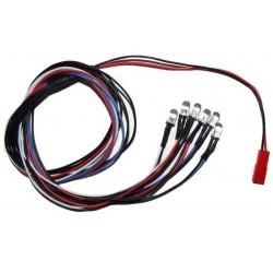 Oświetlenie / diody LED 6x
