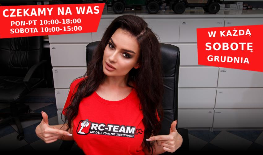 Zmiana godzin pracy sklepu stacjonarnego RC-TEAM