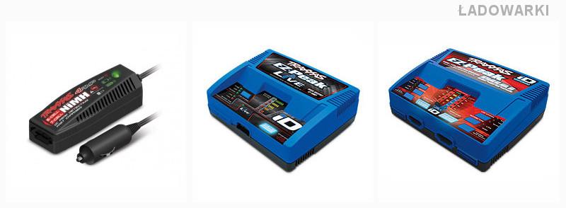 Dodatkowe ładowarki do akumulatorów