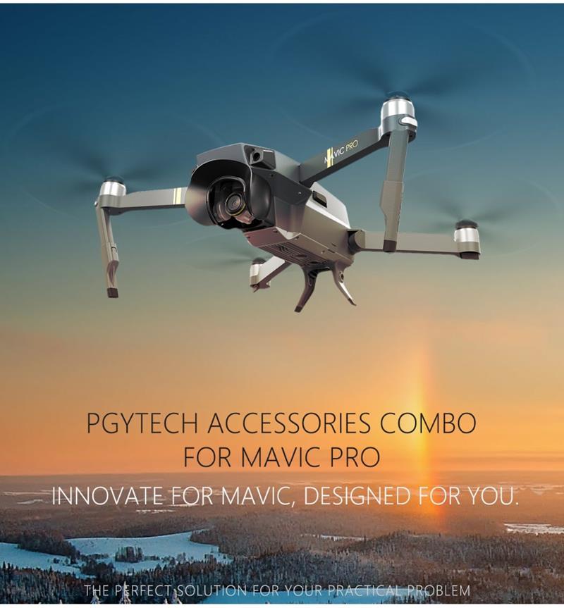 PGY-TECH Zestaw akcesoriów do DJI Mavic Pro