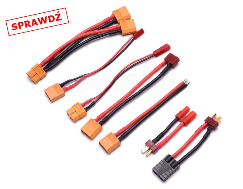 Dodatkowe adaptery do akumulatorów