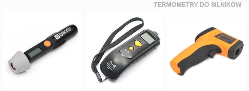 Termometry modelarskie do silników i akumulatorów