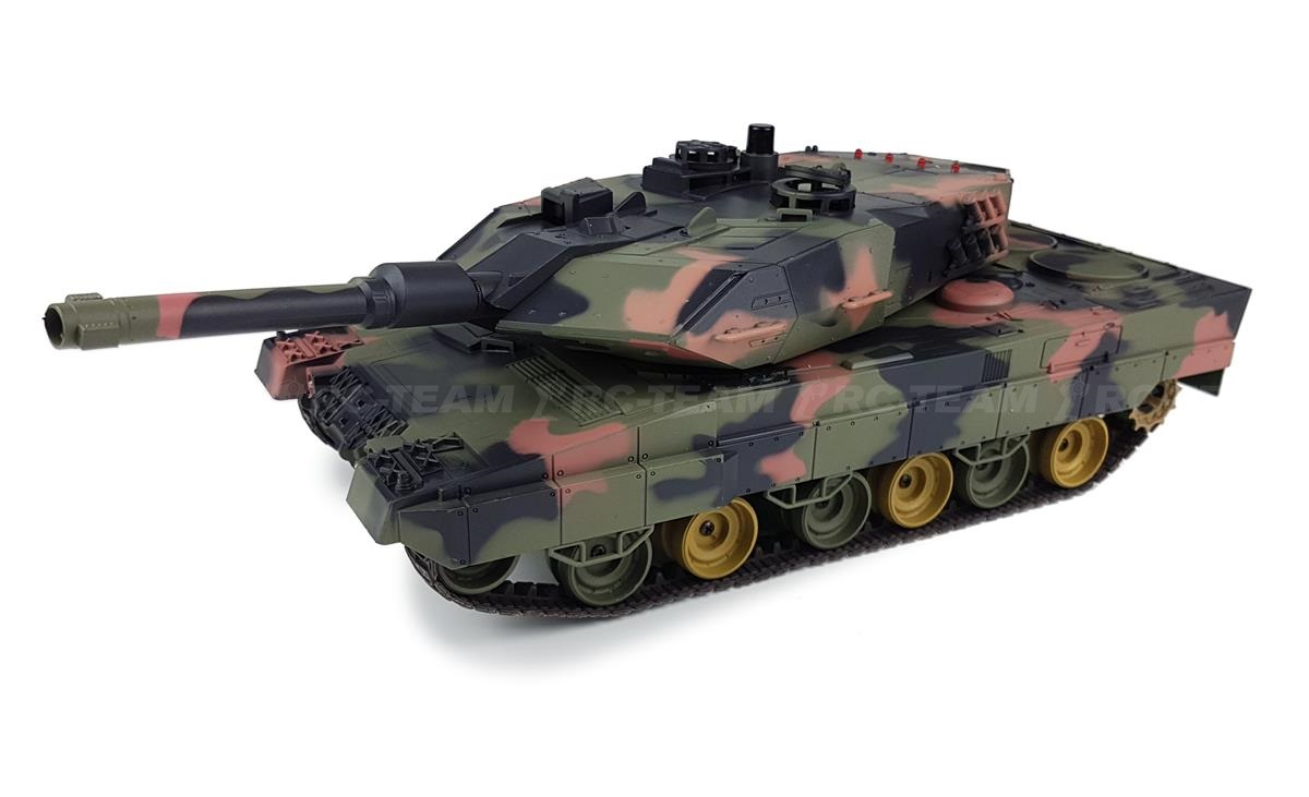 Czołg HENG LONG Leopard II A5 1/24 2.4GHz ASG IR R/C