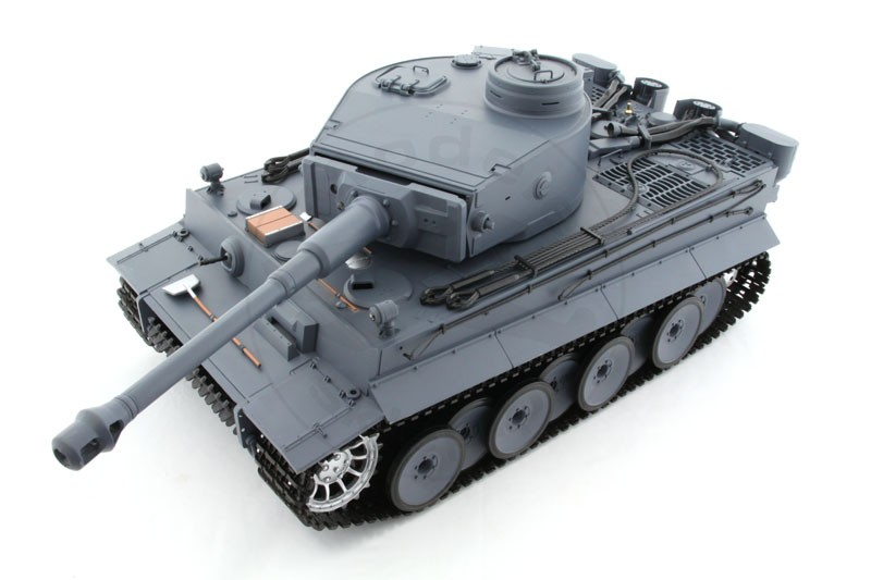 Czołg HENG LONG German Tiger I - Panzerkampfwagen VI Tiger Ausf. E 2.4GHz 1:16 Grey V.4