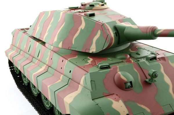 Czołg HENG LONG German King Tiger - Panzerkampfwagen VI Ausf. B Königstiger Porsche 1:16