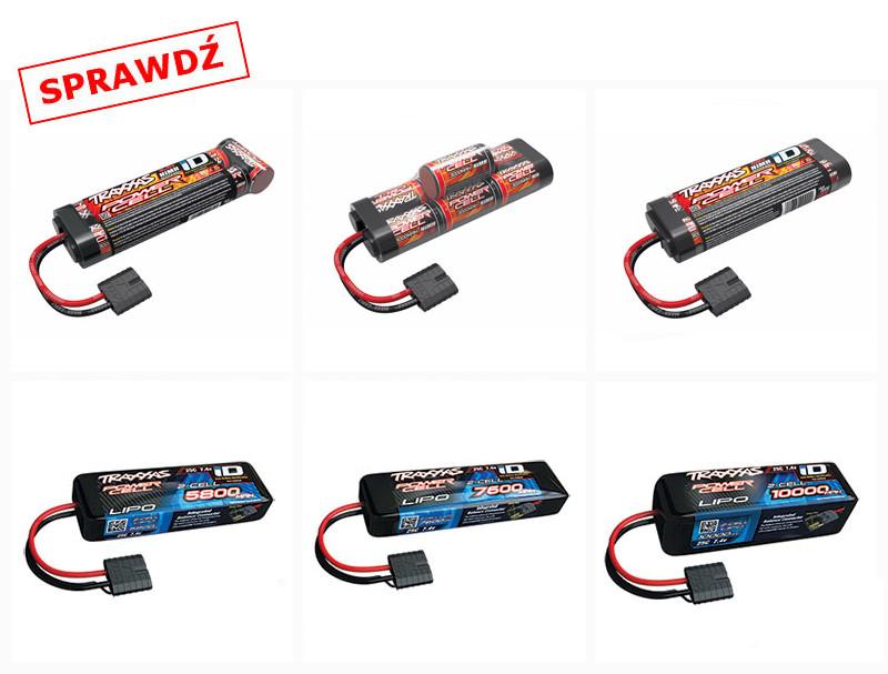 Dodatkowe akumulatory do modelu