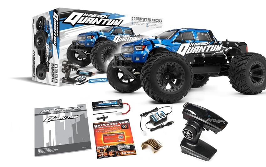 MAVERICK Quantum MT 1/10 4WD Monster Truck RTR