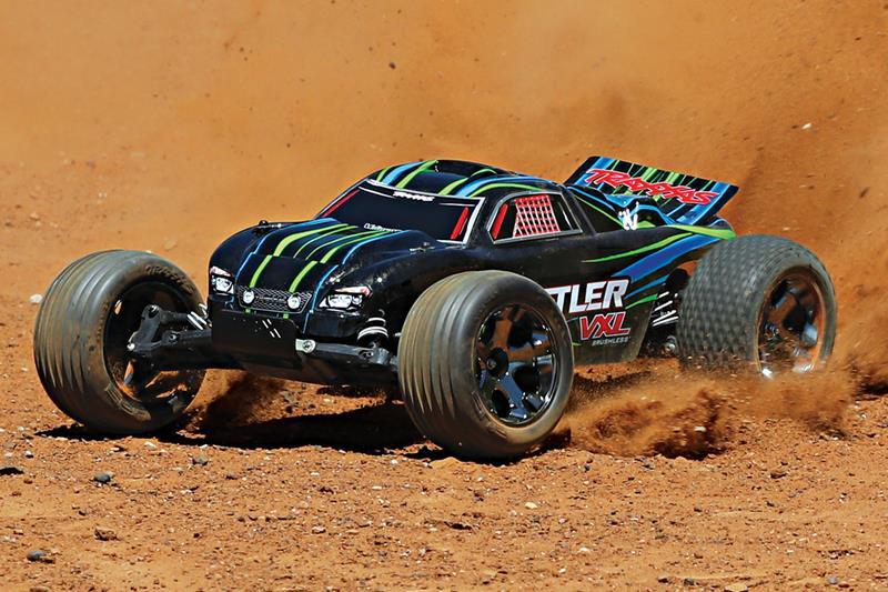 TRAXXAS Rustler VXL 2WD 1/10 Stadium Truck Rock n' Roll
