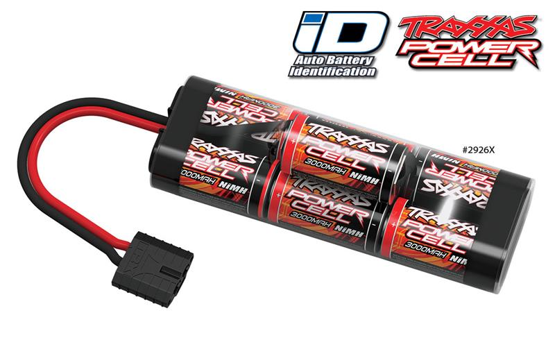 TRAXXAS Akumulator HUMP 8,4V 3000mAh iD Connector